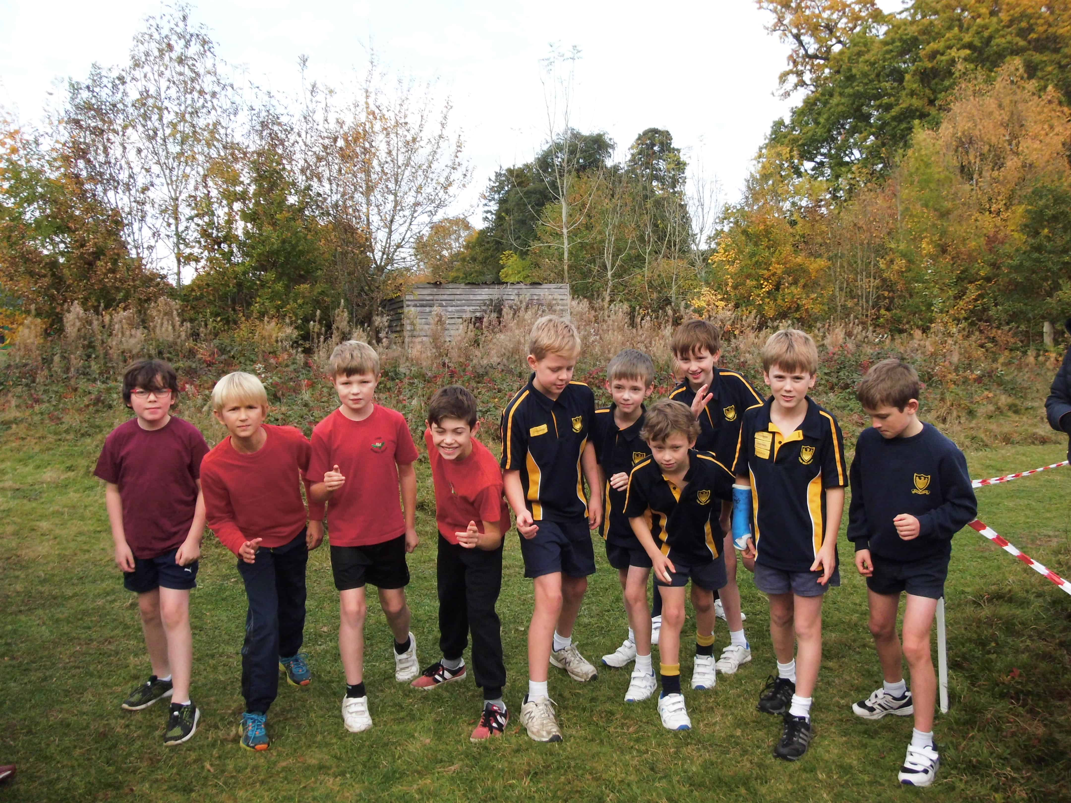 Fosse host Inter-School Cross Country on the new track