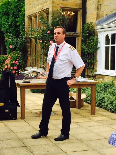 Houses Day - a visit from a real Pilot in Assembly