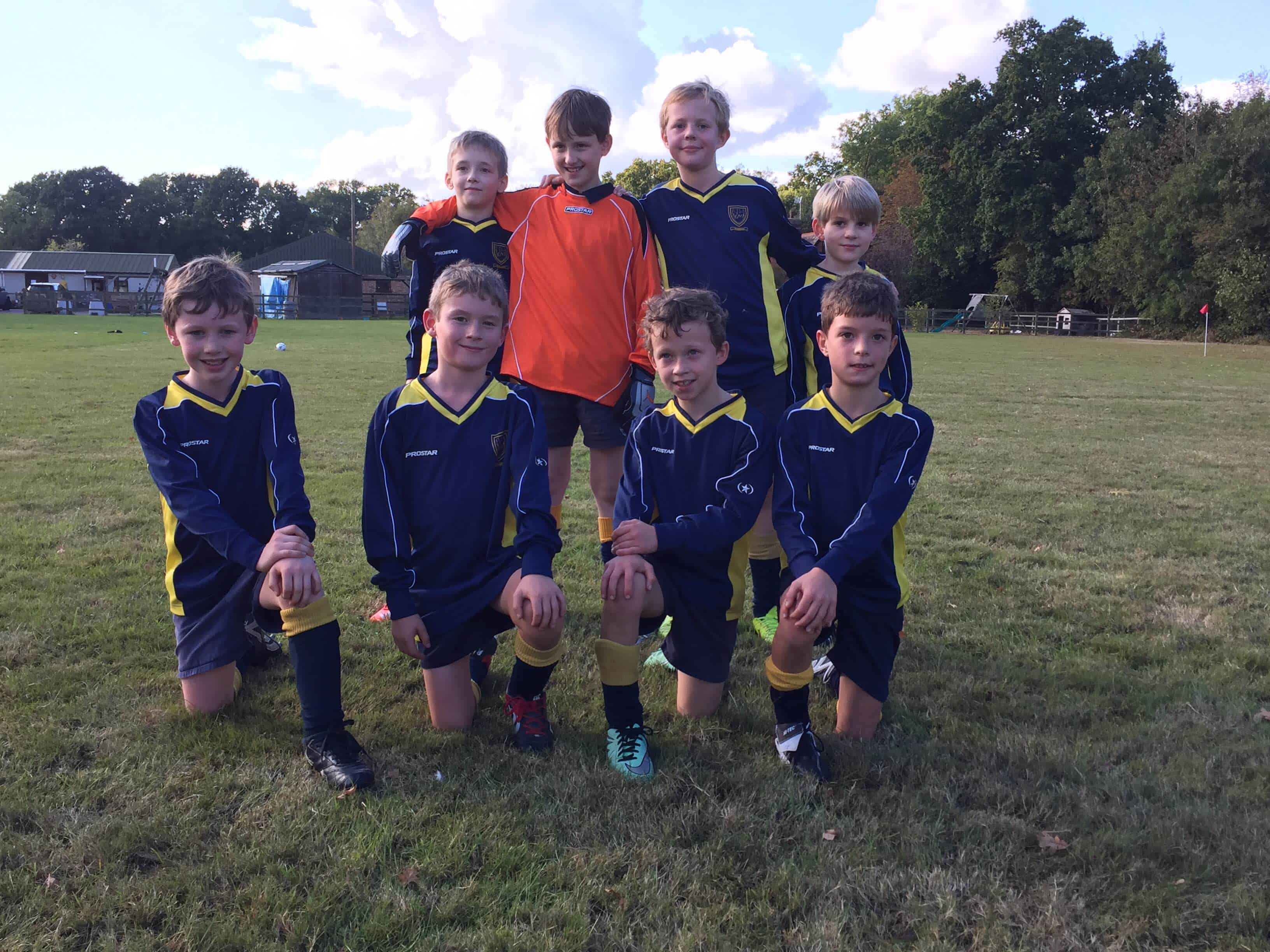 Year 4&5 Football match V Hilden Oaks