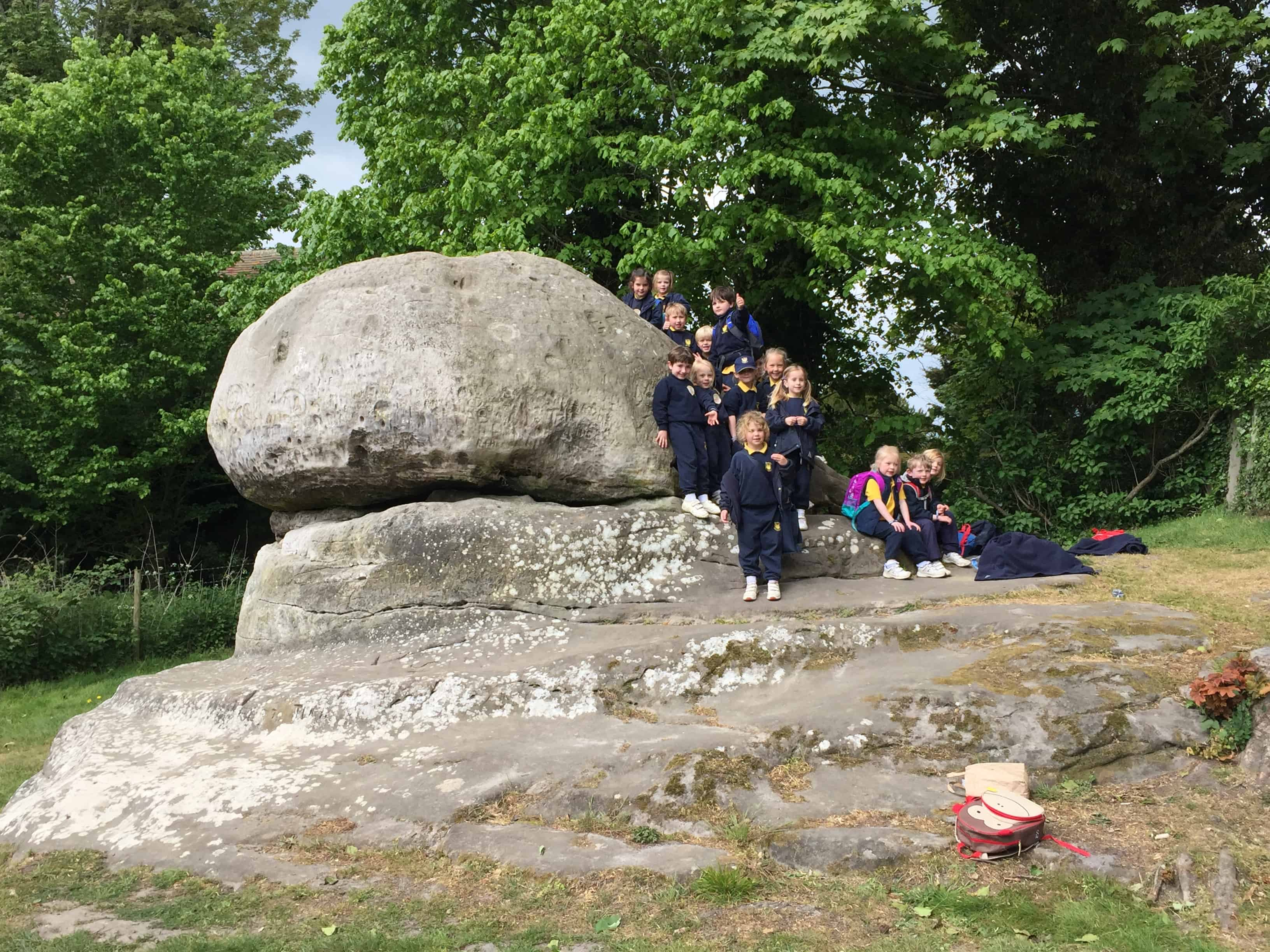 Reception & Year 1 Trip to Chiddingstone