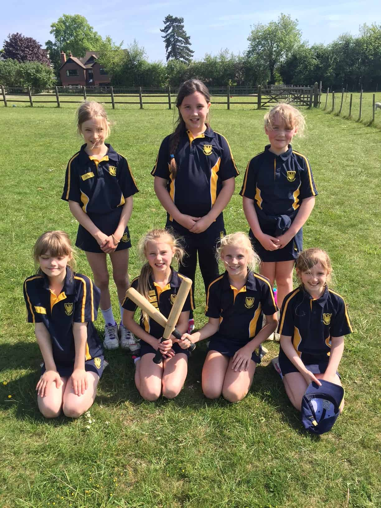 Year 5 Girls Rounders