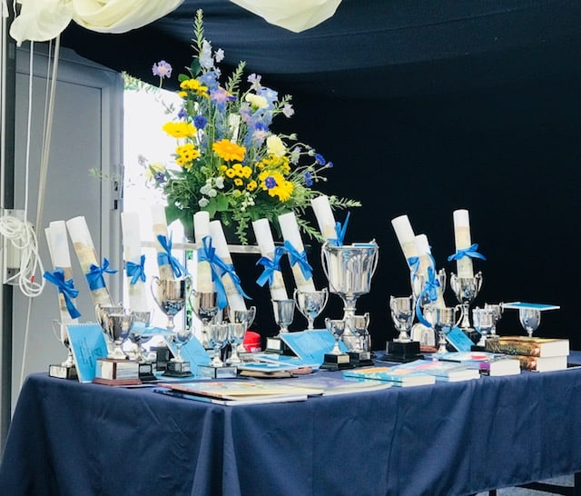 Prize-giving 2018