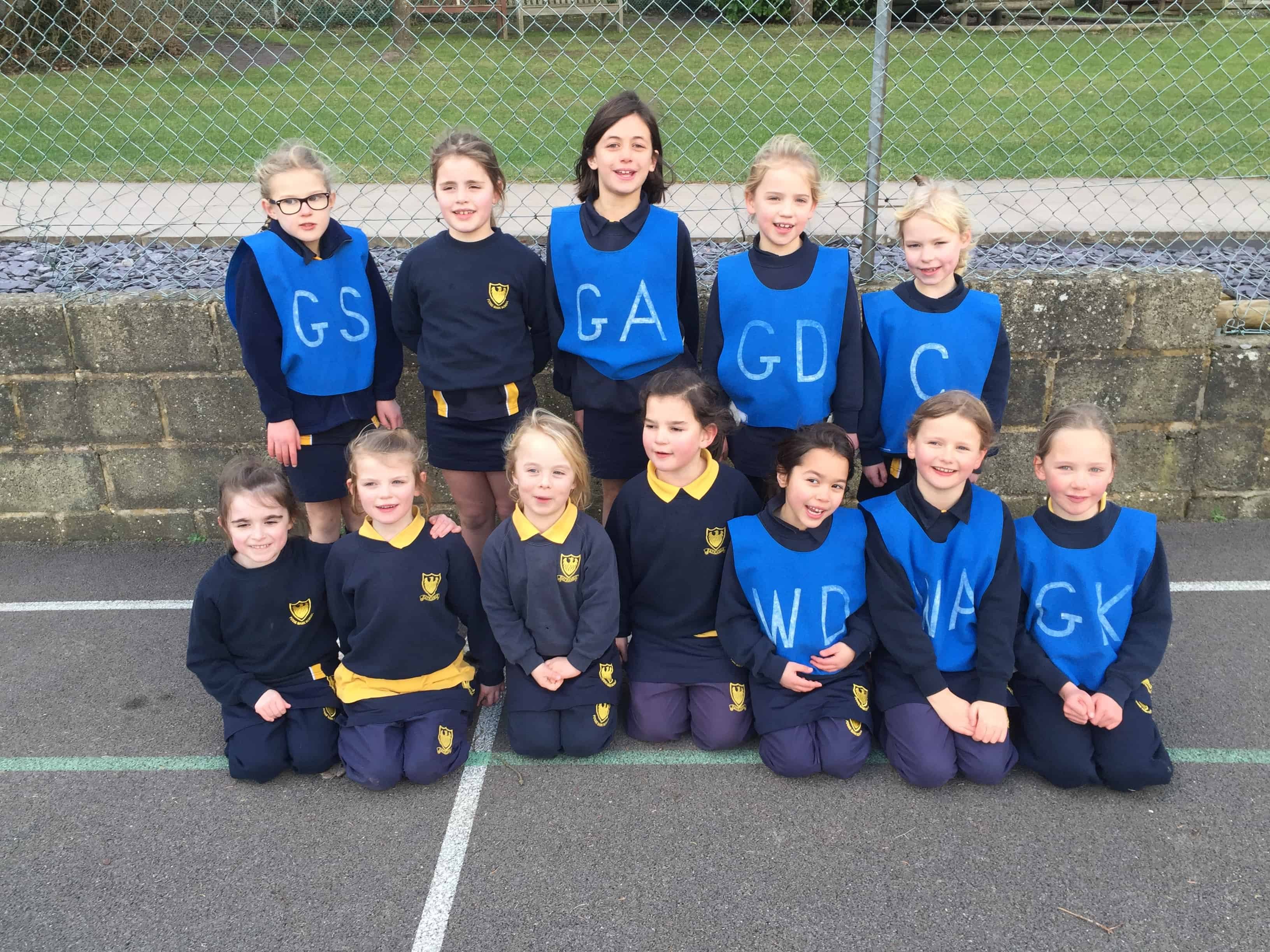 Years 2,3 & 4 Netball v Russell House