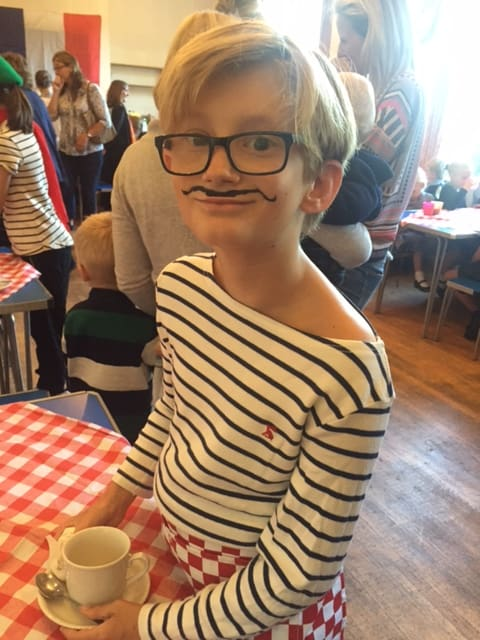 French Cafe for Macmillan Cancer