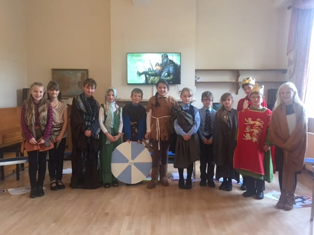 Year 5 Assembly about the Anglo-Saxons