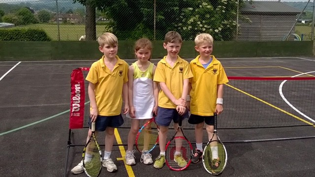 Super effort - 4th overall at the Russell House Tennis Tournament. Well done Fosse!