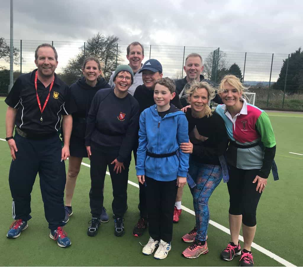 Year 6 v Parents & Staff Tag Rugby