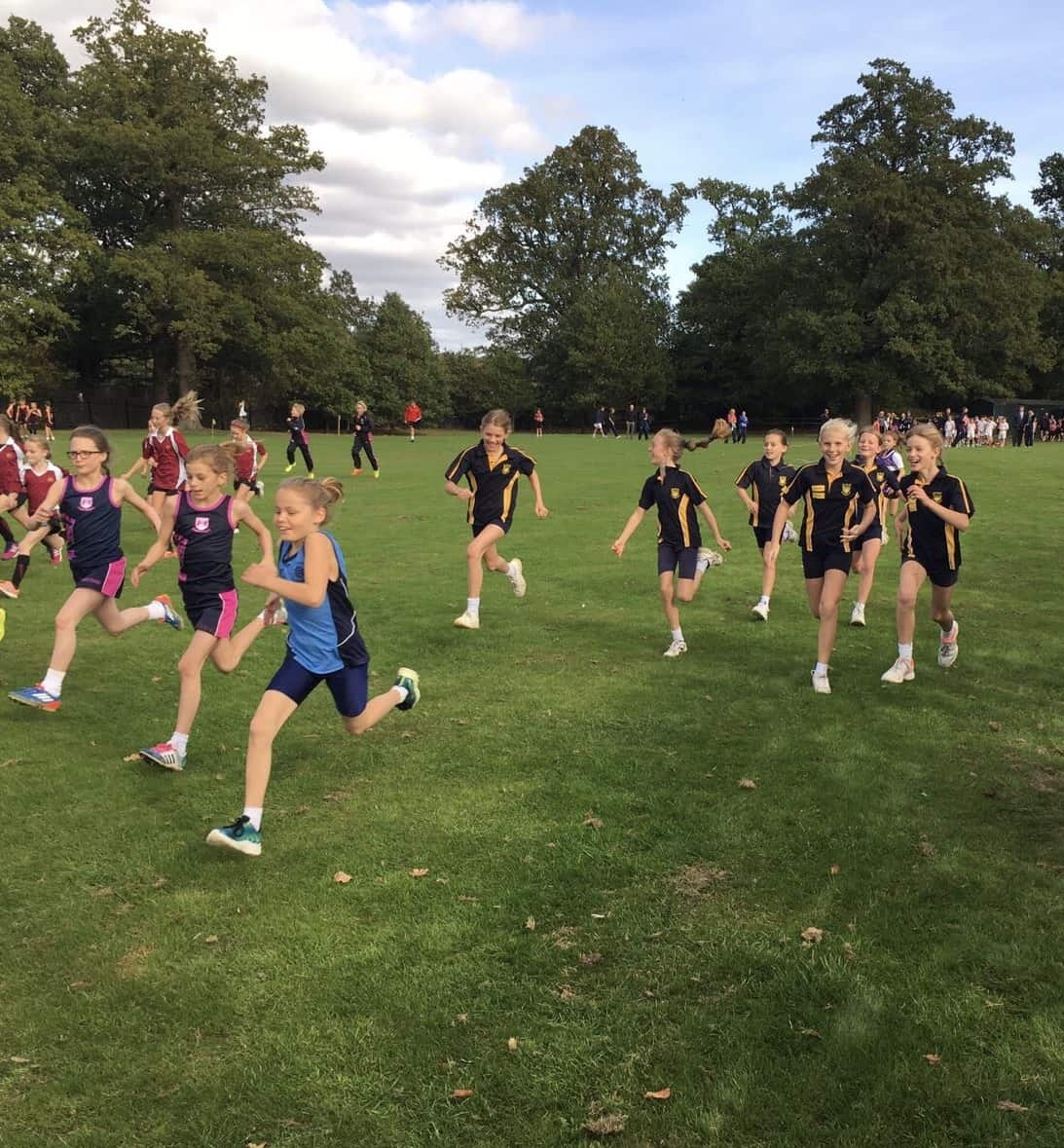 Somerhill Regional Cross-Country Event