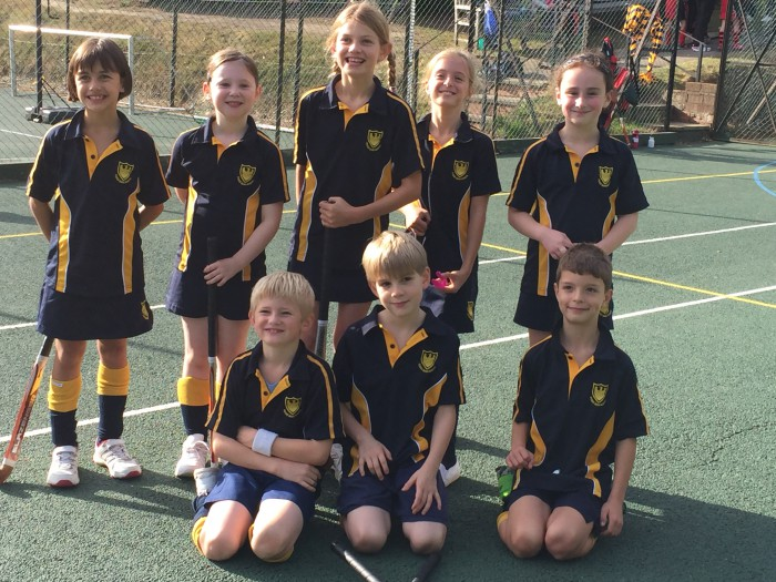 Years 3&4 Hockey win against Beechwood