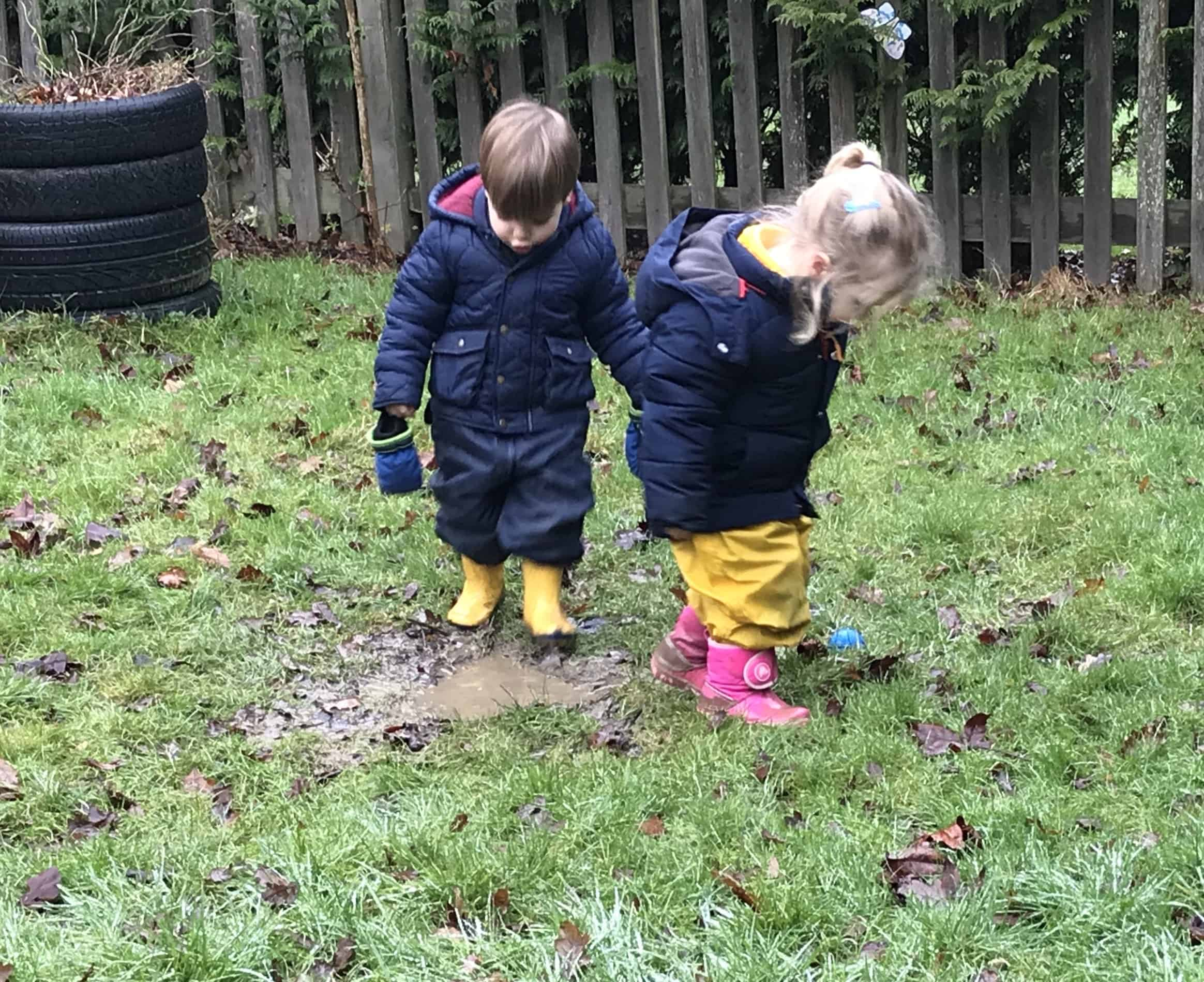 forest school play